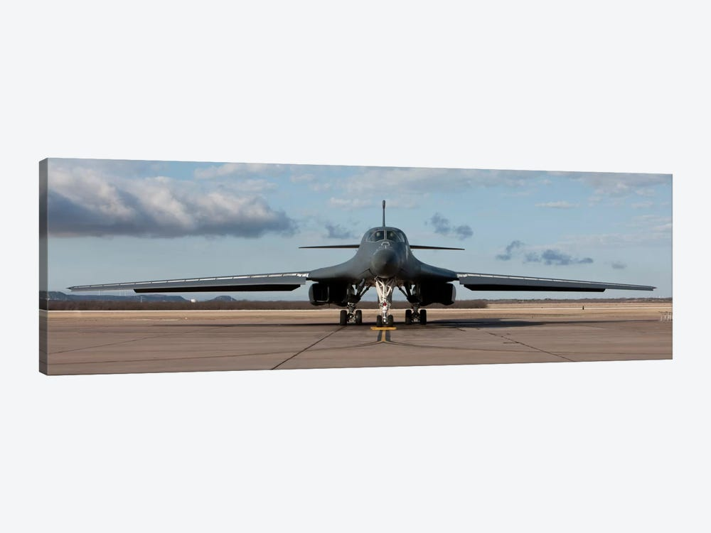 B-1B Lancer At Dyess Air Force Base, Texas by HIGH-G Productions 1-piece Canvas Artwork
