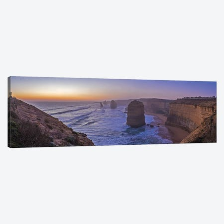 Evening Sky Looking West At A Twelve Apostles Viewpoint Near Port Campbell, Victoria. Canvas Print #TRK3001} by Alan Dyer Canvas Print