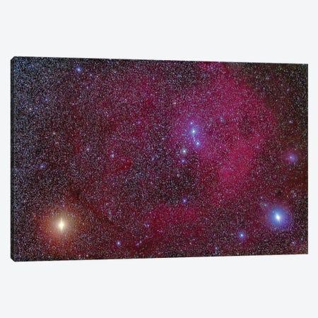 Lambda Orionis Nebulosity In Orion. Canvas Print #TRK3020} by Alan Dyer Art Print