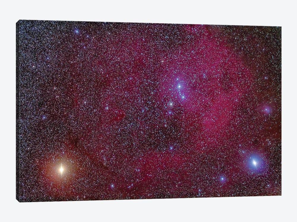 Lambda Orionis Nebulosity In Orion. by Alan Dyer 1-piece Art Print