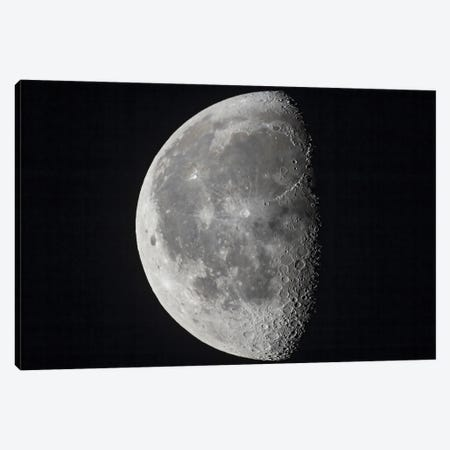 The 20-Day-Old Waning Moon. Canvas Print #TRK3150} by Alan Dyer Canvas Print