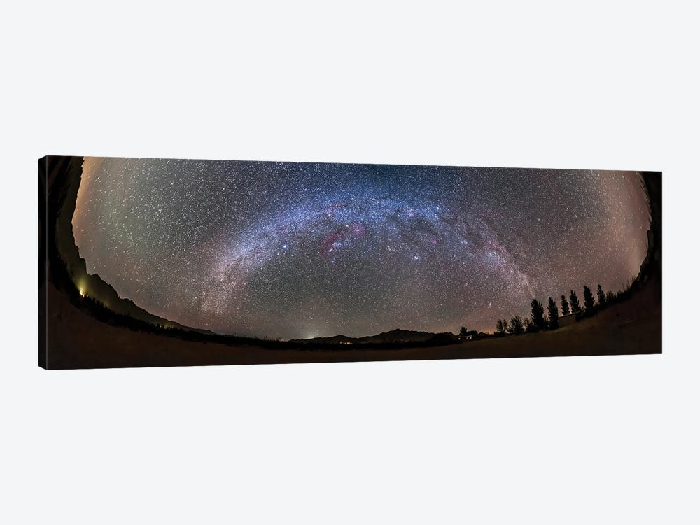 The Arch Of The Winter Milky Way, Arizona. by Alan Dyer 1-piece Canvas Wall Art