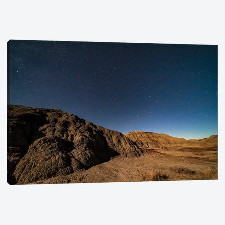 The Big Dipper On The Ascent Over Dinosaur Provincial Park, Alberta, Canada. Canvas Print #TRK3178} by Alan Dyer Canvas Print