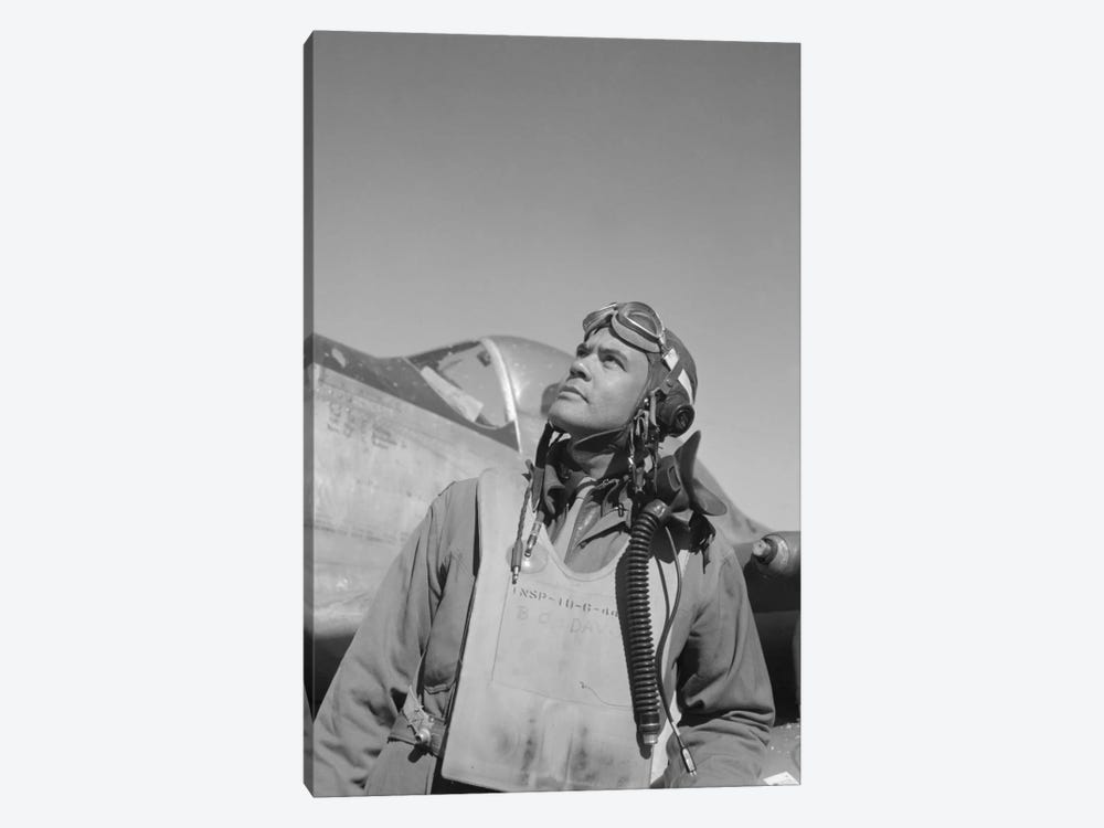Benjamin Oliver Davis Jr., Commander Of The Tuskegee Airmen by John Parrot 1-piece Art Print