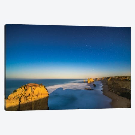 The Twelve Apostles Sea Stack Formations On The Great Ocean Road, Australia. Canvas Print #TRK3265} by Alan Dyer Canvas Artwork