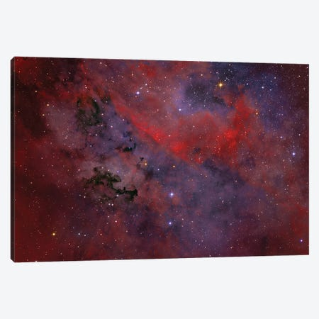 Dark Nebula P91 Is A Dust Formation In The Constellation Cygnus. Canvas Print #TRK3369} by Lorand Fenyes Canvas Art