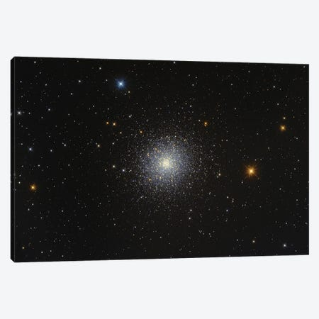 Messier 13, Hercules Globular Cluster. Canvas Print #TRK3372} by Lorand Fenyes Art Print