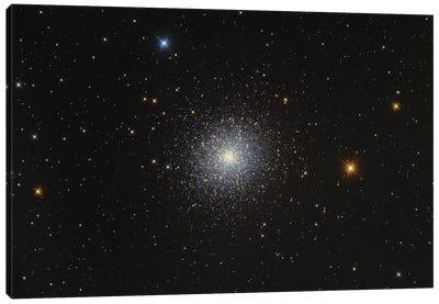 Messier 13, Hercules Globular Cluster. Canvas Art Print