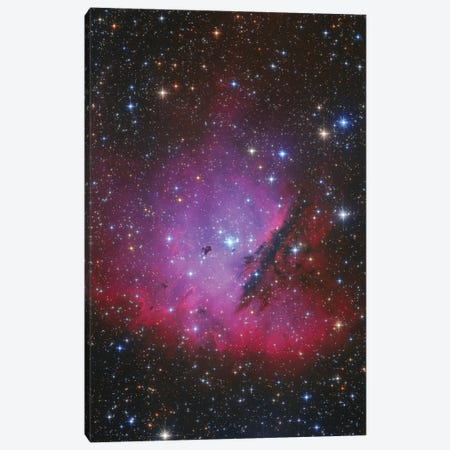 Pacman Nebula, Ngc 281. Canvas Print #TRK3376} by Lorand Fenyes Canvas Art