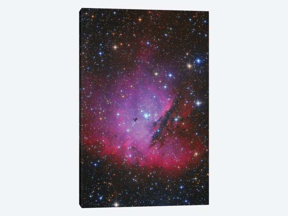 Pacman Nebula, Ngc 281. by Lorand Fenyes 1-piece Canvas Wall Art