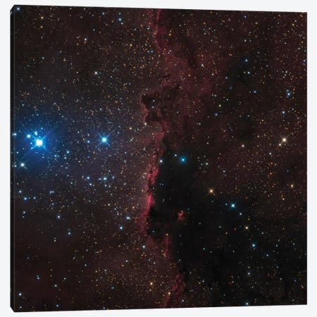 Ngc 6188, A Wall Of Beautiful Cosmic Dust. Canvas Print #TRK3385} by Michael Miller Canvas Art Print