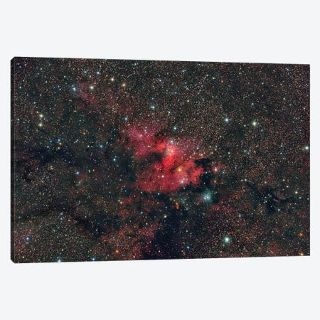Emission Nebula Sh2-155, The Cave Nebula. Canvas Print #TRK3393} by Reinhold Wittich Art Print