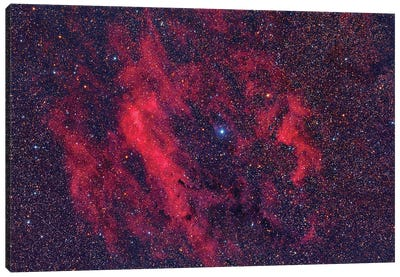 Emission Nebula Sh2-199. Canvas Art Print