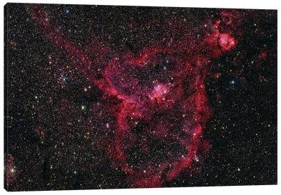 Ic 1805, The Heart Nebula. Canvas Art Print