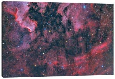 Ic 5068 Nebula In The Constellation Cygnus. Canvas Art Print