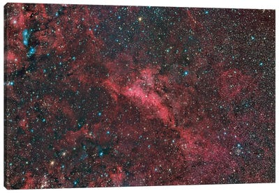 Lbn 251 Emission And Reflection Nebula In The Constellation Cygnus. Canvas Art Print