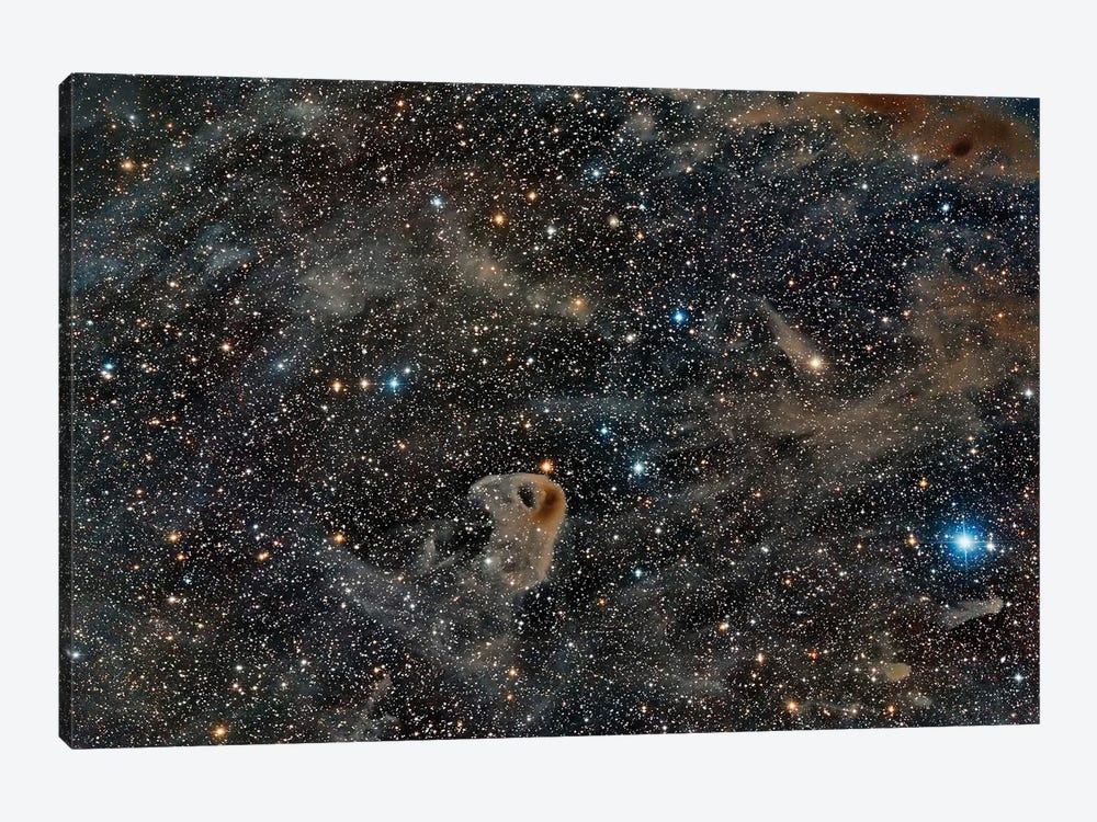 Lbn 777, The Baby Eagle Nebula. by Reinhold Wittich 1-piece Canvas Print