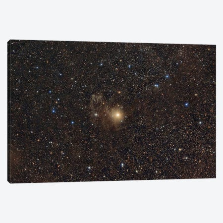 Nebula Around The Star Be Camelopardalis (Be Cam). Canvas Print #TRK3406} by Reinhold Wittich Canvas Wall Art