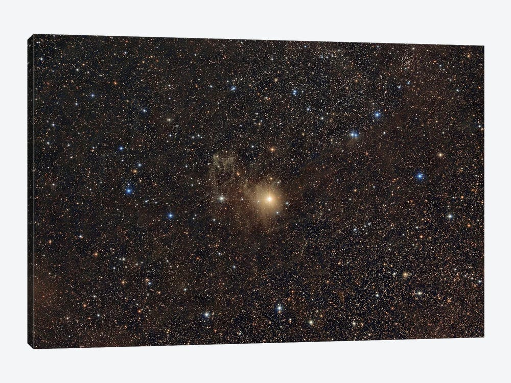 Nebula Around The Star Be Camelopardalis (Be Cam). by Reinhold Wittich 1-piece Canvas Artwork