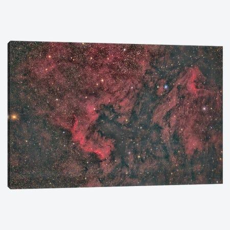 North America Nebula Canvas Print #TRK3408} by Reinhold Wittich Canvas Print