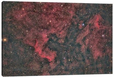 North America Nebula Canvas Art Print