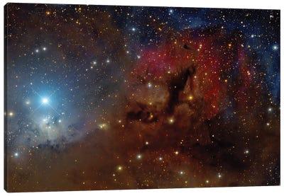 A Beautiful Starforming Region In Perseus. Canvas Art Print