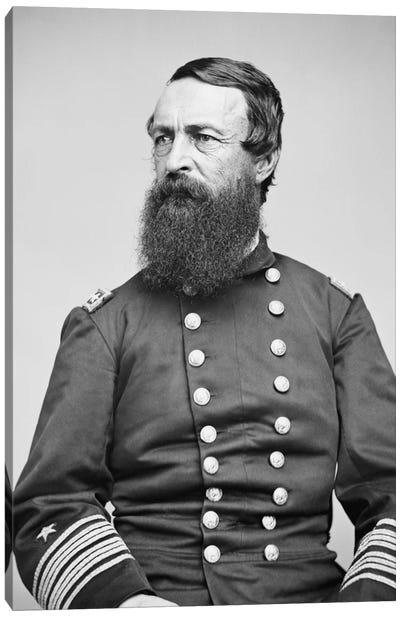Portrait Of Admiral David Dixon Porter Canvas Art Print