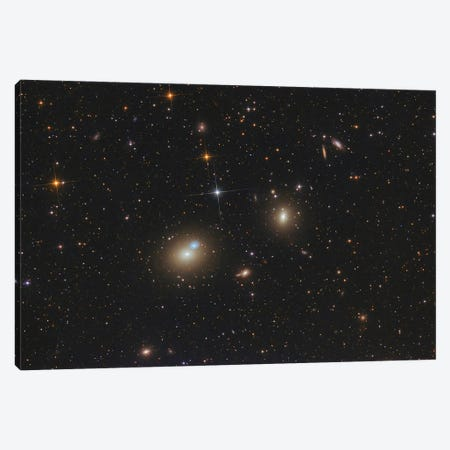 A Huge Elliptical Galaxy. Canvas Print #TRK3421} by Roberto Colombari Canvas Print