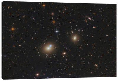 A Huge Elliptical Galaxy. Canvas Art Print