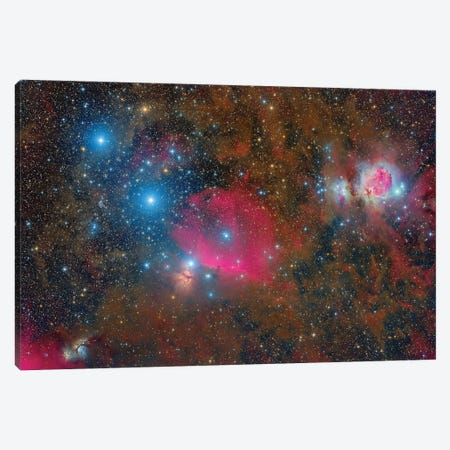 A Wide-Field Over Orion. Canvas Print #TRK3423} by Roberto Colombari Canvas Print