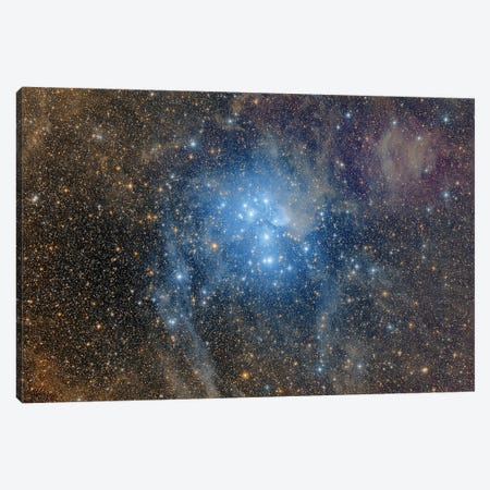 A Wide-Field View Over The Pleiades. Canvas Print #TRK3425} by Roberto Colombari Canvas Art