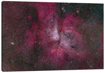 Eta Carinae, A Huge Emission Nebula. Canvas Art Print