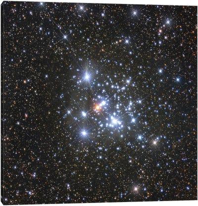 Herschel'S Jewel Box Open Cluster In The Constellation Crux. Canvas Art Print