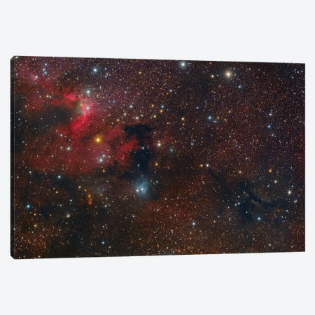 The Cave Nebula In Cepheus. Canvas Print #TRK3433} by Roberto Colombari Canvas Wall Art