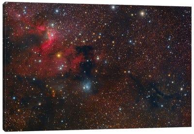 The Cave Nebula In Cepheus. Canvas Art Print