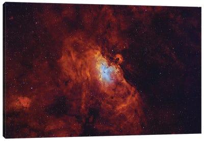 The Eagle Nebula In Serpens. Canvas Art Print