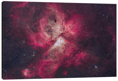 The Majestic Eta Carinae Nebula. Canvas Art Print