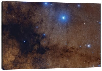 The Pipe Nebula. Canvas Art Print