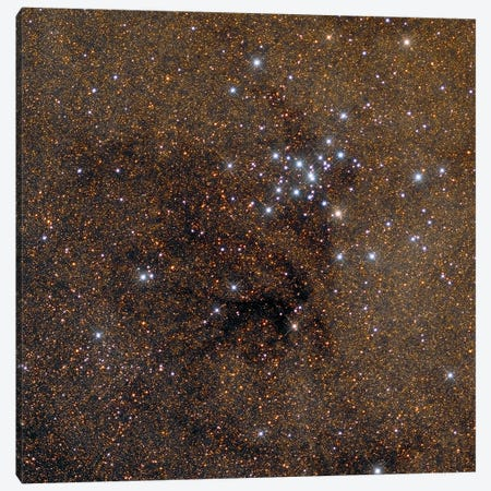 The Ptolemy Cluster, Messier 7. Canvas Print #TRK3446} by Roberto Colombari Canvas Art
