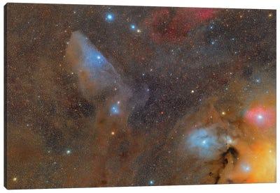 The Rho Ophiuchi Cloud Complex. Canvas Art Print
