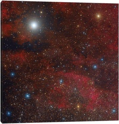 The Sadr Region In The Constellation Cygnus. Canvas Art Print