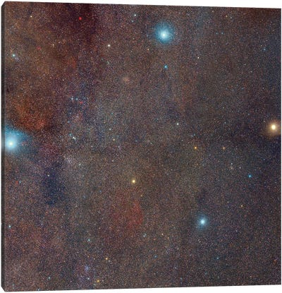 The Southern Cross Area Of Deep Space. Canvas Art Print