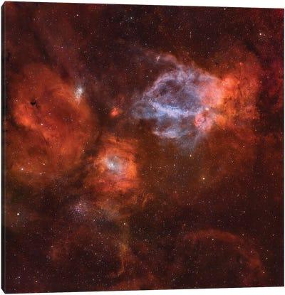 Ngc 7635, The Bubble Nebula. Canvas Art Print