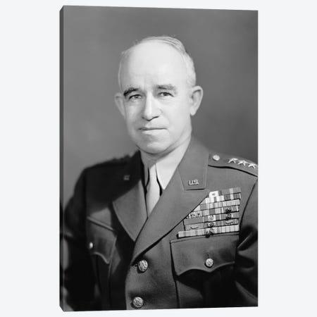 WWII Photo Of General Omar Nelson Bradley Canvas Print #TRK366} by John Parrot Art Print