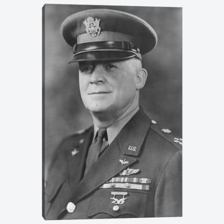 WWII Portrait Of General Henry H. Arnold Canvas Print #TRK373} by John Parrot Art Print