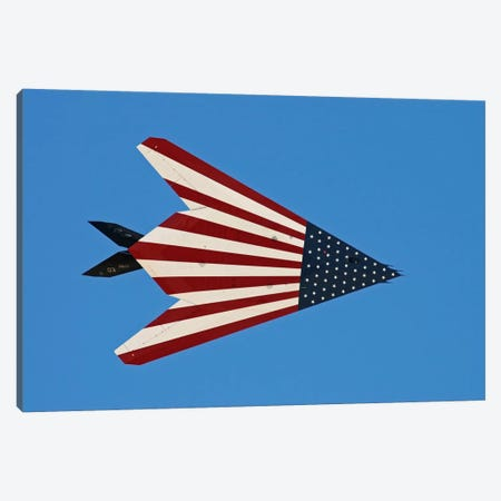 F-117 Nighthawk Flying Over California Canvas Print #TRK388} by Phil Wallick Canvas Wall Art