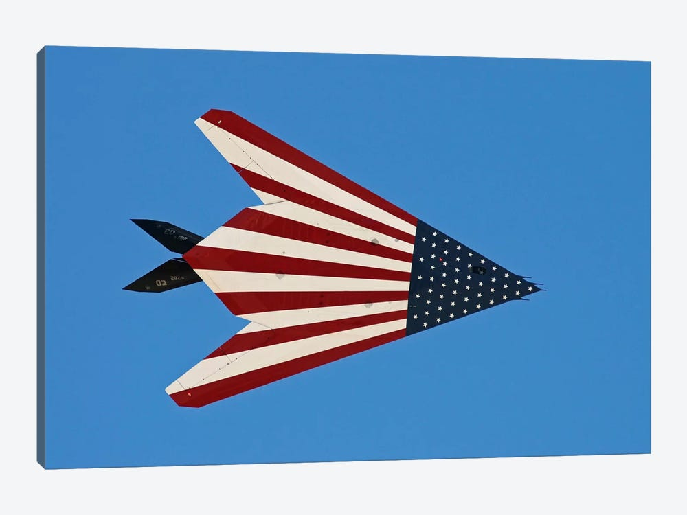 F-117 Nighthawk Flying Over California by Phil Wallick 1-piece Canvas Print