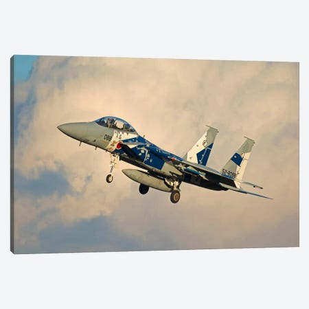 F-15DJ Eagle Of The Japan Air Self Defense Force's Hiko Kyodatai Aggressor Squadron II Canvas Print #TRK391} by Phil Wallick Canvas Print