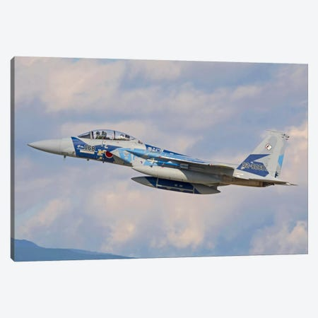 F-15DJ Eagle Of The Japan Air Self-Defense Force Canvas Print #TRK393} by Phil Wallick Art Print