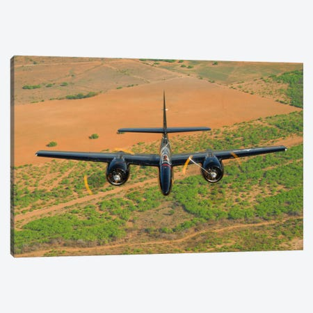 F7F Tigercat In Formation Flight Over San Antonio, Texas Canvas Print #TRK399} by Phil Wallick Canvas Art Print
